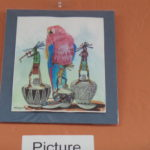 Original Art by Douglas Yazzie - Pots and Flutes