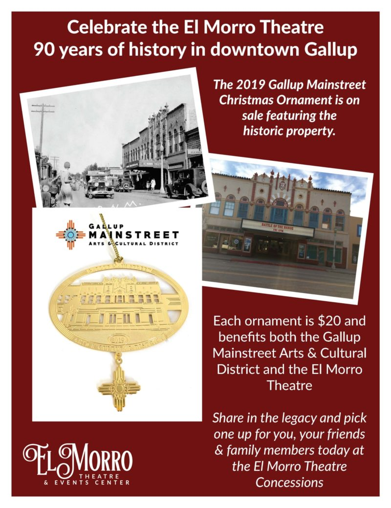 2019 Gallup Mainstreet Ornament Flyer